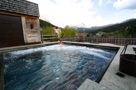 Fotografia hotels ristoranti saune centri termali paesaggio